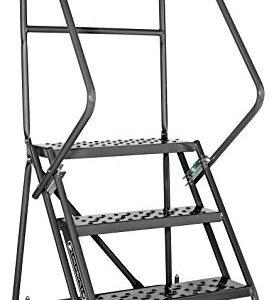 14 Tread Aluminium Warehouse Stepladder Ladder Dubai